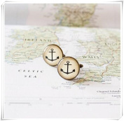 Wedding Cuff Links for Men Cufflinks,Nautical Cufflinks.