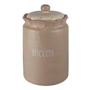 Better & Best 2891311 - POT OF Biscuits, Ceramic, Round, Large, Beige