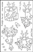 Woodware Craft Collection - Rudolph FRCL110