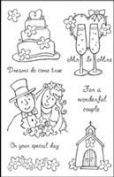 Woodware Craft Collection - Getting Married FRCL117