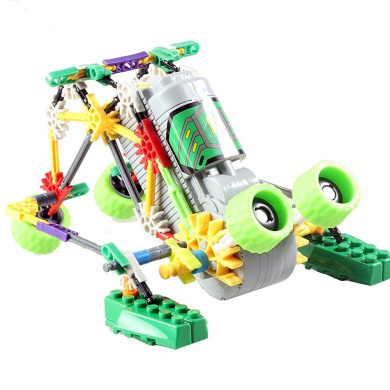 Hahaone building blocks set robot kits science toy for for Motor kits for kids