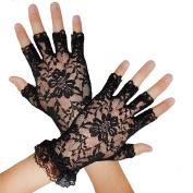 Fingerless Fancy Dress Lace gloves