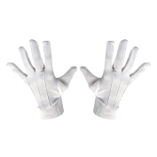Magician / Mime / Mickey Fancy Dress Polyester Gloves