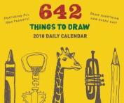 2018 Daily Calendar