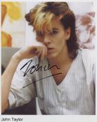 John Taylor Duran Duran SIGNED Photo 1st Generation PRINT Ltd 150 + Certificate