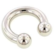 Steel Circular Barbells - 6mm 19mm