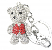 QUADIVA Bag Charm Teddy bag pendant for woman (colour