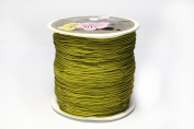 Nylon Thread, Nylon Jewellery Cord for Custom Woven Jewellery Making, Black, 0.8mm Thick, Many Colours; About 120m/roll