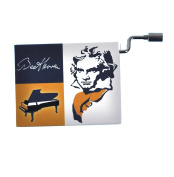 "Beethoven in a Box - ""Song of Joy"" / ""Ode an die Freude"" Handcrank Music Box"