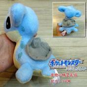 "Cute 7"" Pokemon Lapras 17cm Soft Stuffed Plush Dolls Toy Kids Doll Gift"