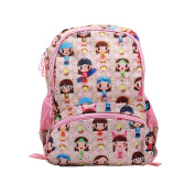 GudeHome Lightweight School Backpack Cute Shoulder Backpack Girls Print School Bags for Teen Girls