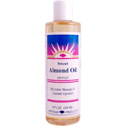 Heritage Products, Sweet Almond Oil, 8 fl oz (240 ml) - 2pc