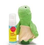 Scentsy Twiggy Turtle Scrubby Buddy and Crazy Coconut Bath Smoothie