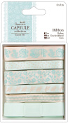 Papermania Eau De Nil Ribbon 6/Pkg-1m Each