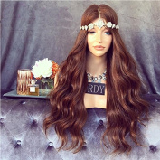 Rongduoyi #4 Brazilian Virgin Hair Full Lace Human Hair Wigs for Black Women with Natural Hairline