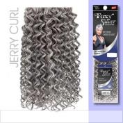 FOXY WEAVE - JERRY CURL10 (Foxy Silver) - Human Hair Blend Weave in 280