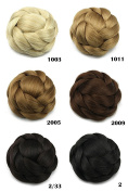 Better-Home Synthetic Hair Bun Extension Braided Chignon Hair Updo