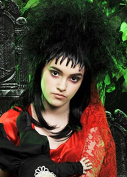 Womens Beetlejuice Style Gothic Bride Wig