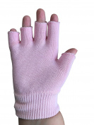 Moisturising Gloves with Spa Quality Oils for Younger Looking Hands by New England Natural Beauty | Tipless Design Fits Women and Men Hand Sizes and Can Be Used With Touch Screens or Overnight