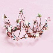 Merroyal Flower Crown Garland for Women and Girl
