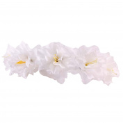 Gilroy Bohemian Flower Floral Crown Headband Bridal Boho Hair Garland Wedding