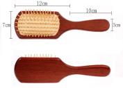 Welwel Red Sandalwood Hair Brush No Static Detangling Brush Massage Brush