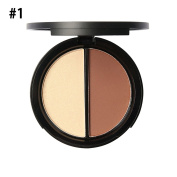 Sungpunet Cosmetics Contour and Highlighting Powder Foundation Palette/Contouring Makeup Kit