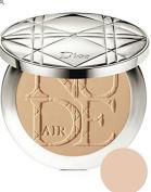 Dior Diorskin Nude Air Powder Healthy Glow Invisible Foundation Powder with Kabuki Brush