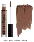 SEOWTOYS Factory Sealed NYX Lip Lingerie Liquid Matte Lipstick Shade Beauty Mark Chocolate Brown