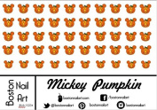 Mickey Mouse Pumpkin - Waterslide Nail Decal - 50pc