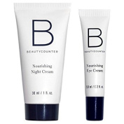 Beautycounter Rest Assured Set Nourishing Night Cream(30ml) and Nourishing Eye Cream