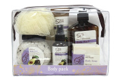 Deluxe Spa Travel Body Pack Gift Set Pressed Olive Avocado