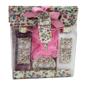 Peony Luxury Bath Spa Gift Set in Carry Gift Bag