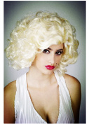Marilyn Monroe Queen for wig short fluffy hair for Lady
