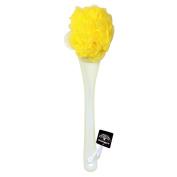 Bubble_Shop Bath Shower Ball Body Back Brush Nylon Mesh Supersoft Sponge Long Handle