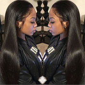 Grade 7a Unprocessed Brazilian Straight Hair 3 Bundles, 100% Human Hair Weave Extensions, Can Be Dyed and Bleached