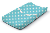 Summer Infant Ultra Plush Changing Pad Cover, Blue Dots for Days