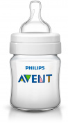 Philips AVENT Anti-Colic Bottle, Clear, 120ml