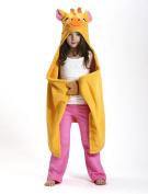 ZOOCCHINI Jaime the Giraffe Hooded Towel