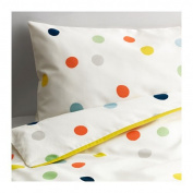 IKEA Crib Bedding DROMLAND Duvet Cover Set Includes One Duvet Cover and One Pillow Case ""
