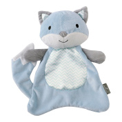 Hallmark Baby Good Night Kisses Scented Lovey, Fun Blue Fox
