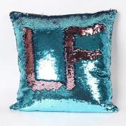 Pillow Case,Dirance(TM) Home Decor Double Colour Glitter Sequins Throw Pillow Case Cafe Home Decor Cushion Covers