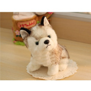 WuKong Stuffed Animals Plush Toys Husky Design Doll Cute Dog Figures (L