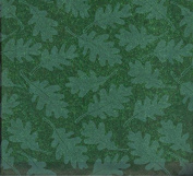 Oak Tree Leaves on Forest Green Gift Tissue Paper-20 Sheets