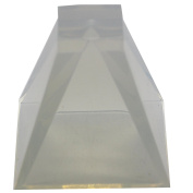 Funshowcase Pyramid Resin Epoxy Mould for Jewellery, Polymer Clay, Soap Making, Cabochon Gemstone Crafting Projects