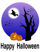 Halloween Heat Transfar Whitch Iron-On Heat Transfer for White Material, 100cm x 28cm