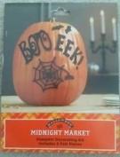 Halloween Midnight Market Pumpkin Decorating Kit