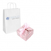 Sparkles Make It Special 100-pcs Large Ribbon Favour Candy Boxes Wedding Gift Candy Boxes Pink