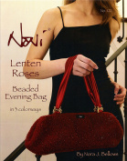 Noni Knitting & Felting Pattern #122 Lenten Roses Beaded Evening Bag in 3 Colorways