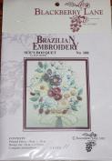 Sue's Bouquet - Blackberry Lane Brazilian Embroidery pattern #108